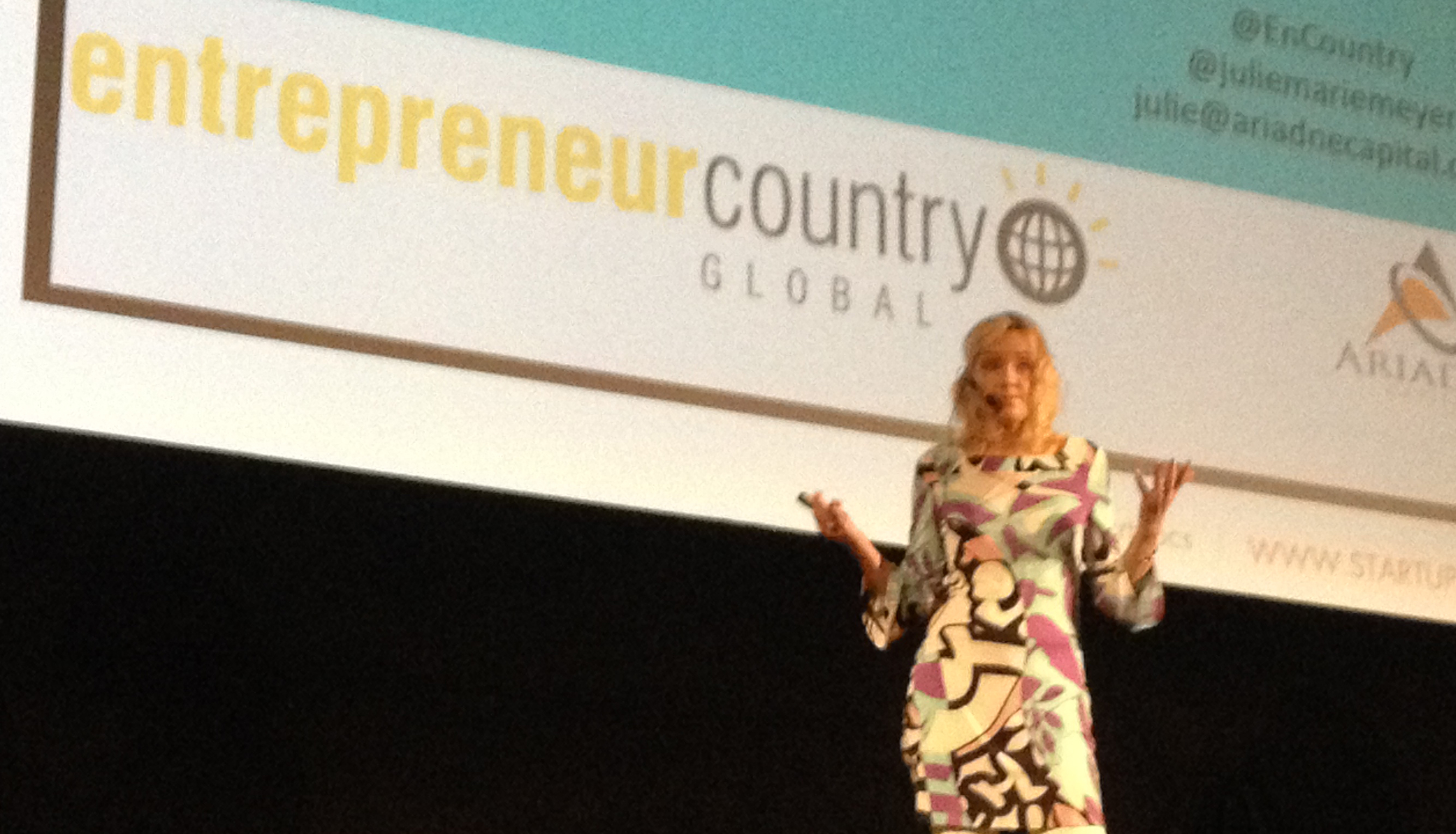 Julie Myer at Prague Start-up Summit