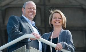 Clive and Edwina Humby